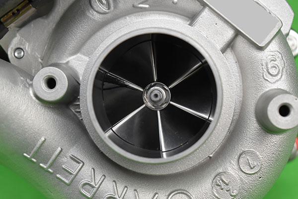 Turbolader Tuning Nachher